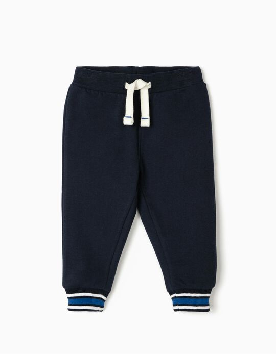 Joggers for Baby Boys, Dark Blue
