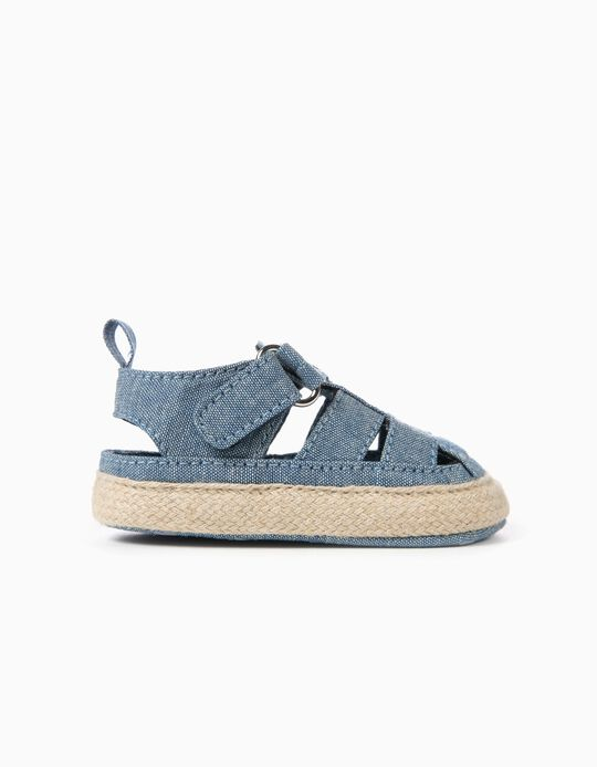 Sandálias para Recém-Nascido, Azul