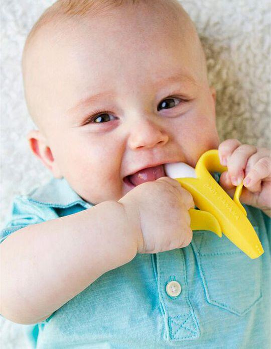Mordedor e escova de Dentes Baby Banana