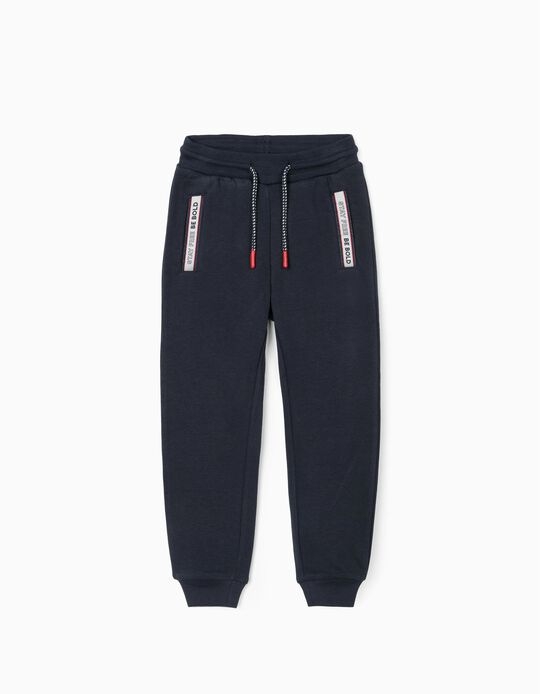 Joggers for Boys 'Be Bold', Dark Blue