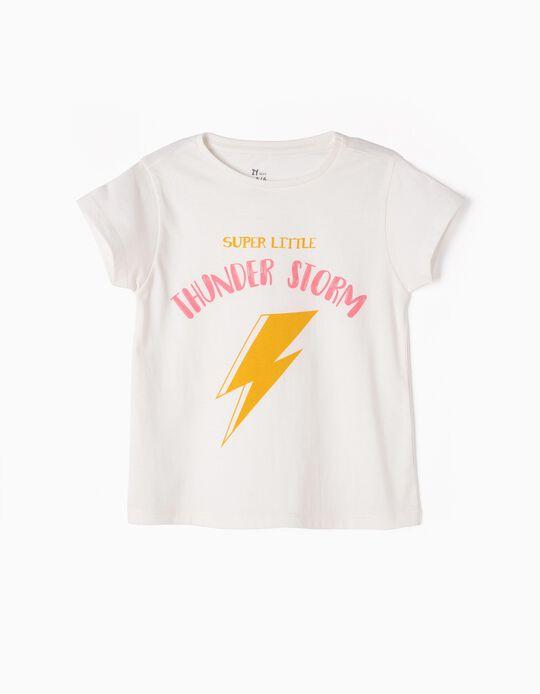 Camiseta Estampada Thunder Storm