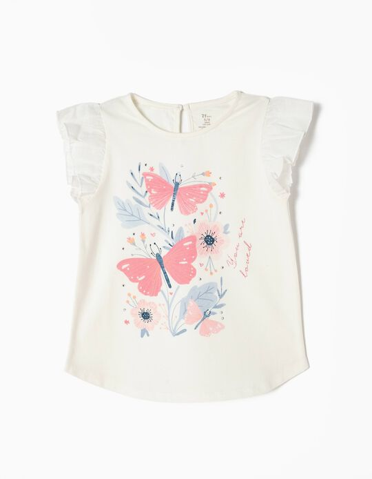 Camiseta Estampada Mariposas