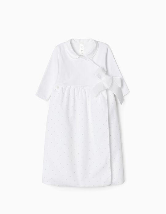 Combinaison Nouveau-Nés 'Welcome Home', Blanc