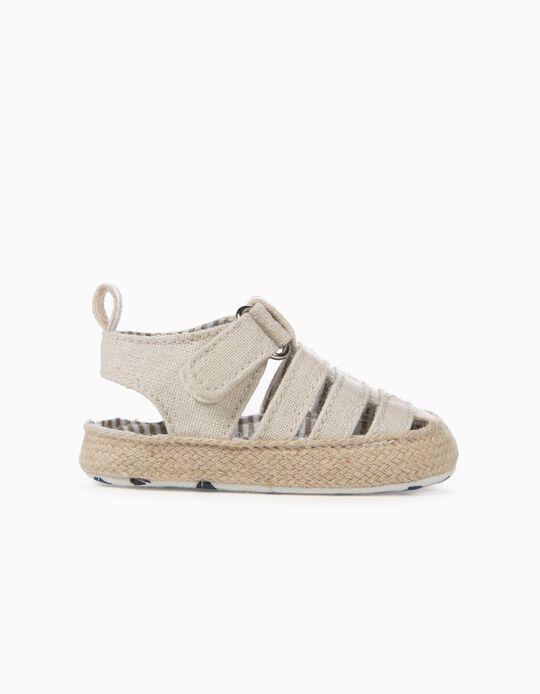 Sandals for Newborn, Beige