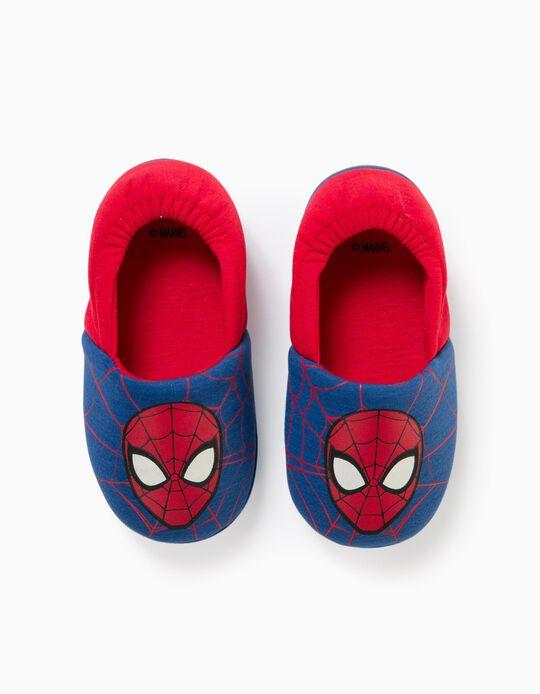 Pantufas para Menino 'Spider-Man', Azul/Vermelho