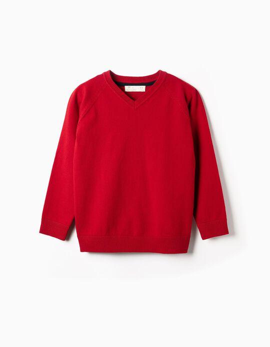 Jersey para Niño, Rojo y Azul