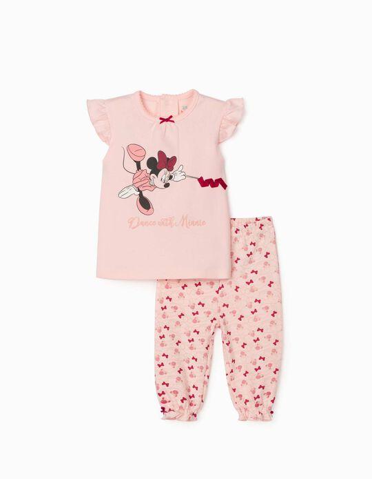 Pyjama for Baby Girls 'Dance with Minnie', Pink