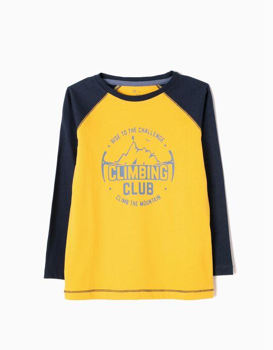 T-shirt Manga Comprida Climbing Club
