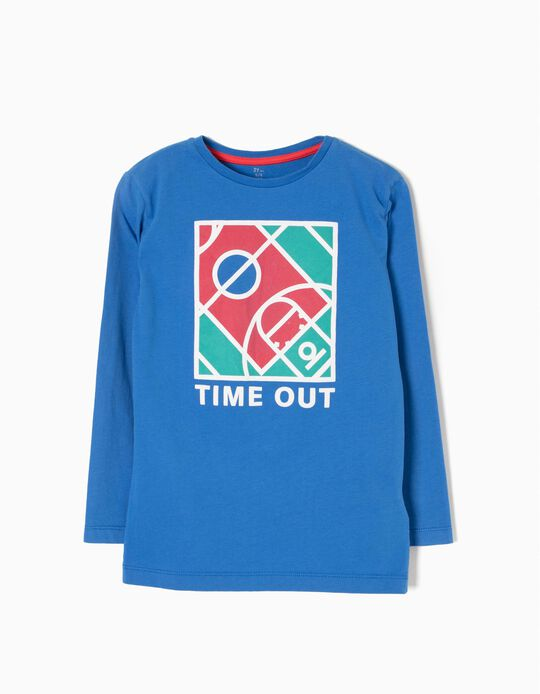 Camiseta de Manga Larga Time Out