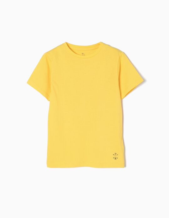 Camiseta de Punto Yellow