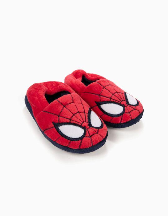Pantufas para Menino 'Spider-Man', Vermelho
