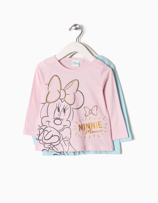 Pack de 2 Camisetas Minnie