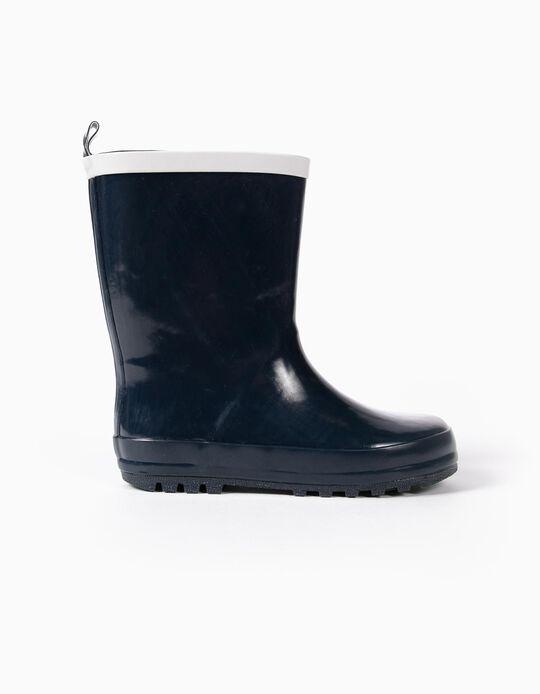 Rain Boots for Kids, Dark Blue