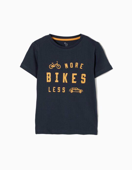 Camiseta More Bikes Less Cars