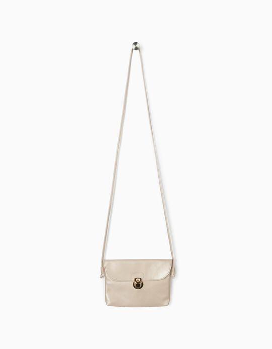 Crossbody Bag for Girls, Beige