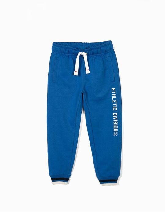 Pantalón de Chándal para Niño 'Athletic Division 96', Azul