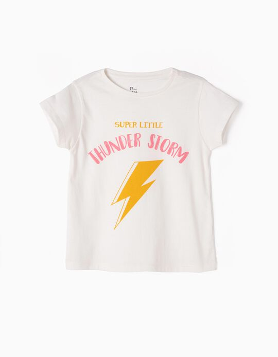 T-shirt Estampada Thunder Storm