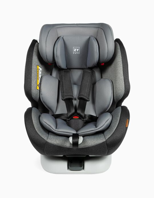 Car Seat Gr 0/1/2/3 Premium Isofix One Zy Safe Melange Grey