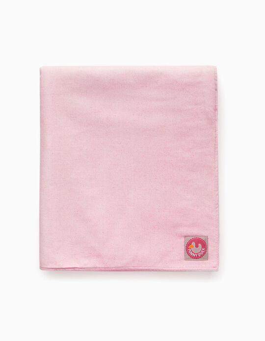 Manta 70X100cm Funny Duck Pink