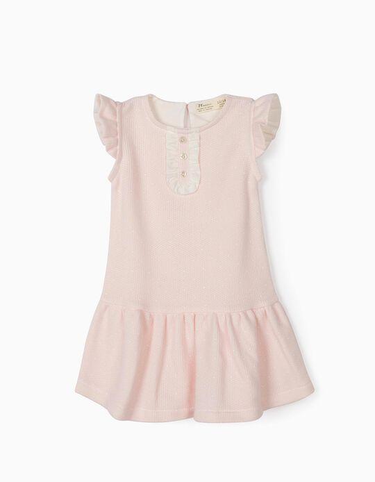 Vestido para Bebé Menina, Rosa