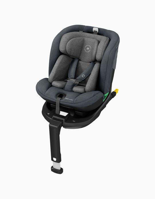 Cadeira Auto I-Size e Base Esmerald Bébé Confort Authentic Black
