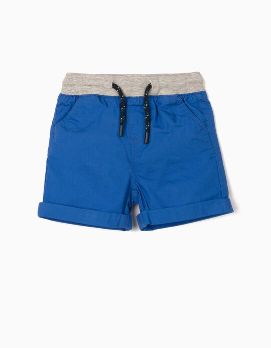 Shorts for Baby Boys, Blue