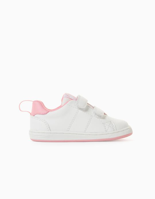 Trainers for Baby Girls, 'ZY 1996', White/Pink