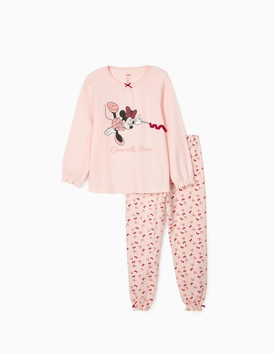 Pijama para Niña 'Minnie Dance', Rosa