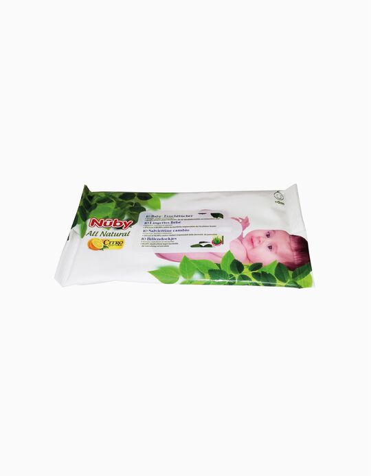 Cleansing Wipes, Nuby 10 un.