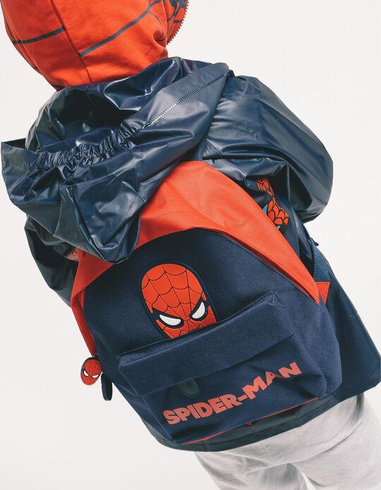 Mochila para Menino 'Spider-Man', Azul Escuro e Vermelho