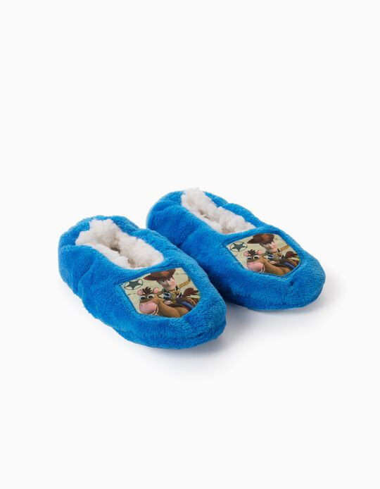 Slippers for Boys, 'Toy Story', Blue