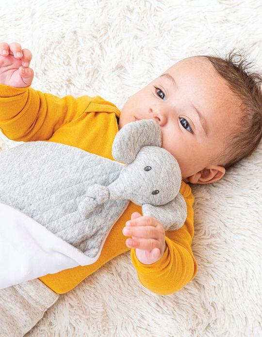 Baby Comforter Tembo Elephant Jacquard Nattou