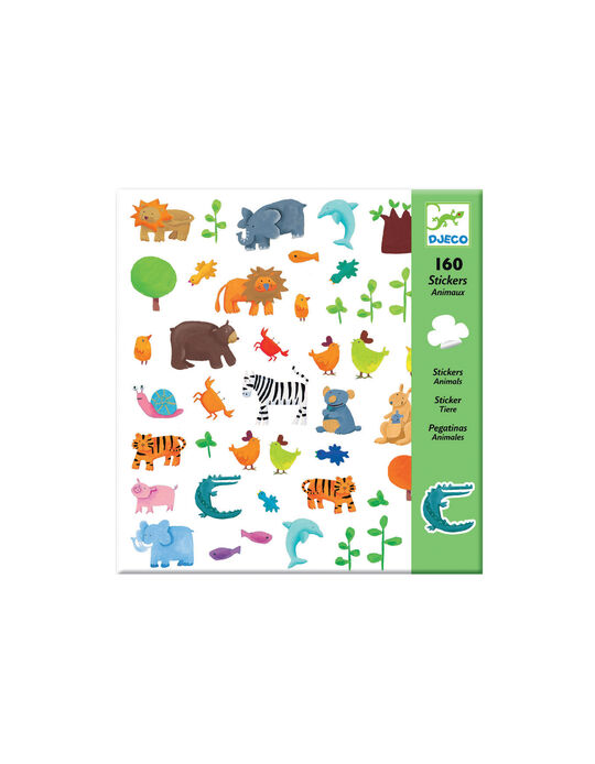 Adhesivos Animales Djeco