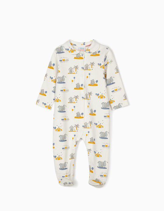 Babygrow para Recém-Nascido 'Dumbo', Branco