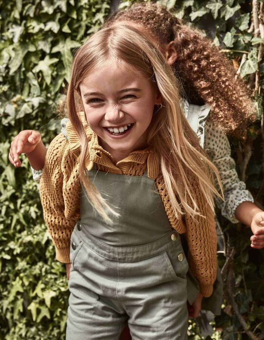 Dungarees for Girls, Green