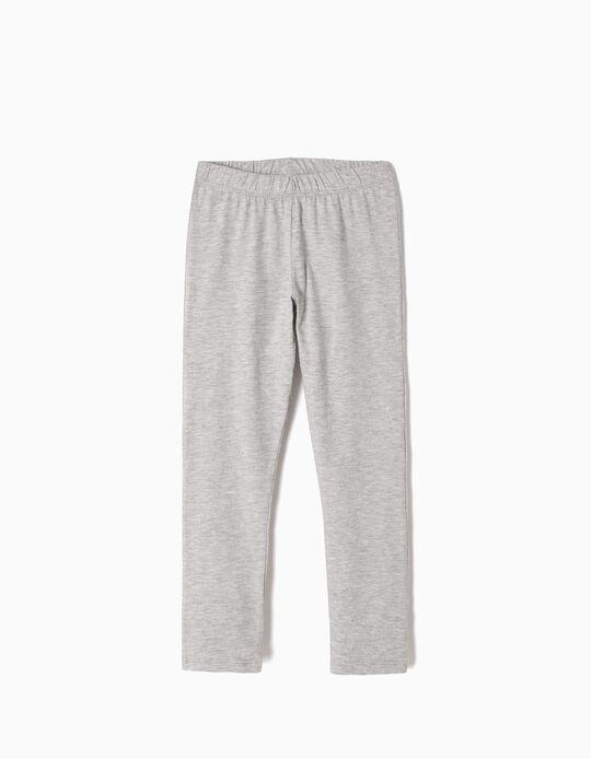 Leggings for Girls, Grey