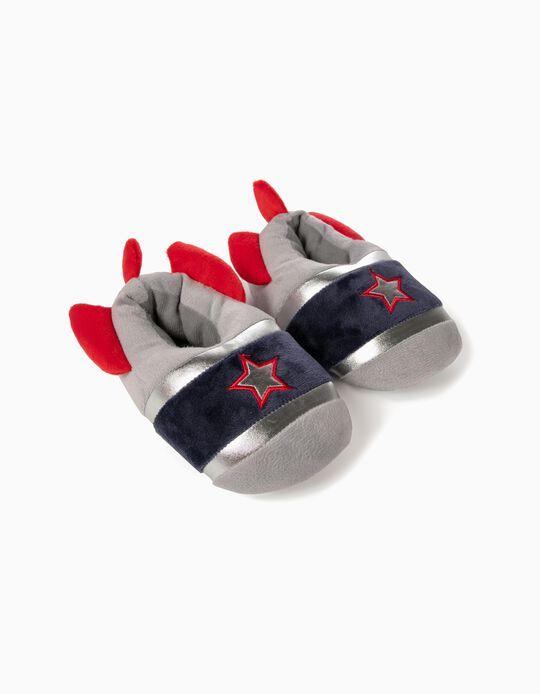 Zapatillas de Casa para Niño 'Space', Gris