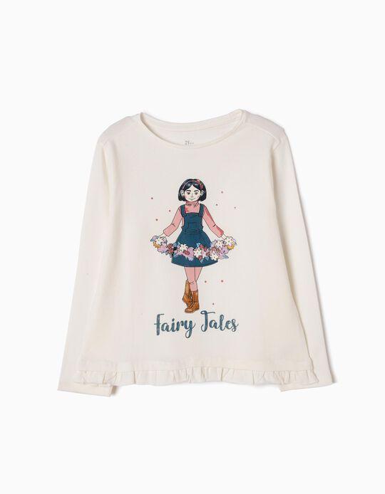 T-shirt Manga Comprida Fairy Tales