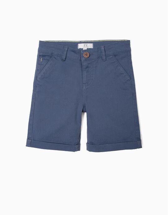 Chino Shorts, Blue
