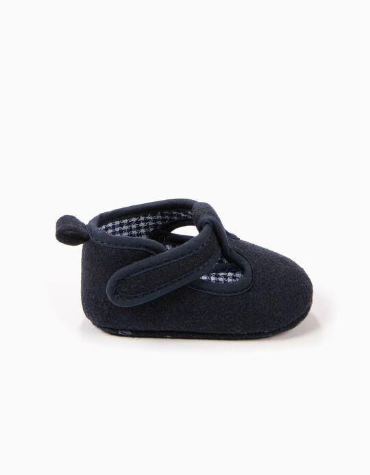 Zapatos Pre-Walker de Lana Azul