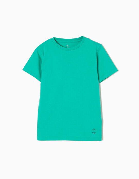 Camiseta de Punto Green