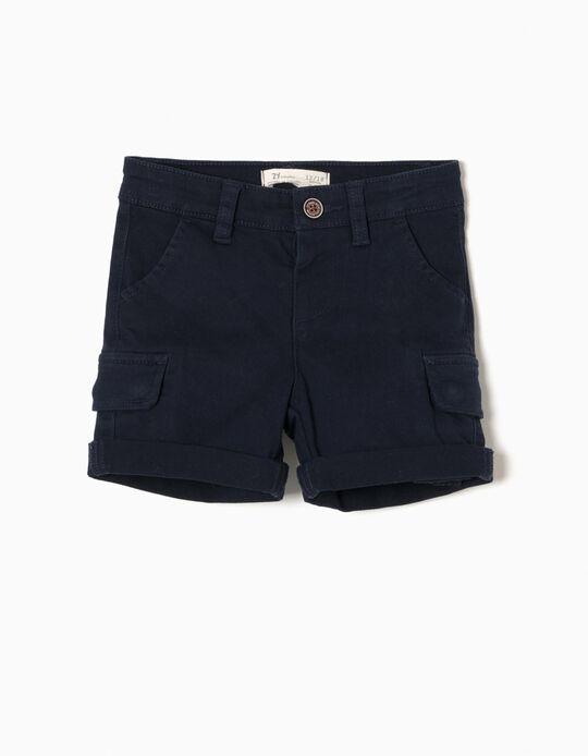 Short Azul Oscuro