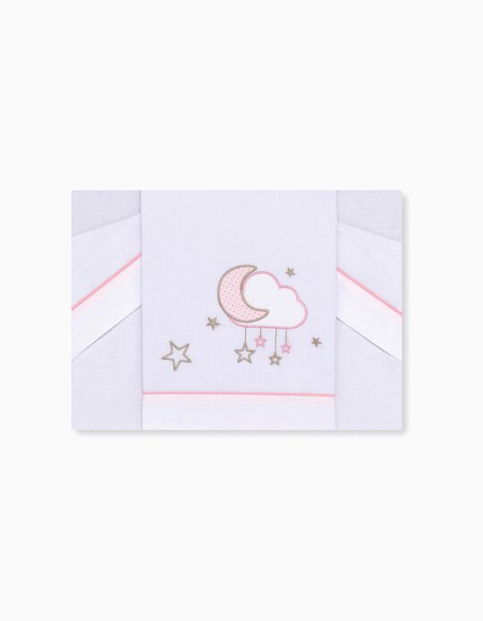 Conjunto de Lençois para Cama 80x140cm Nube Petit Star 3 pcs.