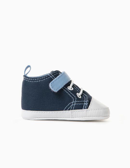 Zapatillas para Recién Nacido, Azul