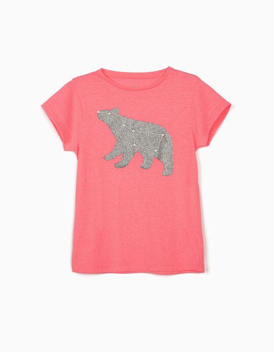 Camiseta para Niña 'Osa Mayor', Rosa
