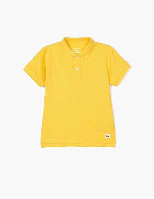 Polo para Menino, Amarelo