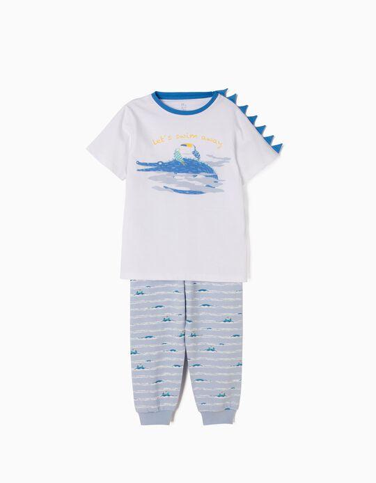 Pijama Manga Curta Swim