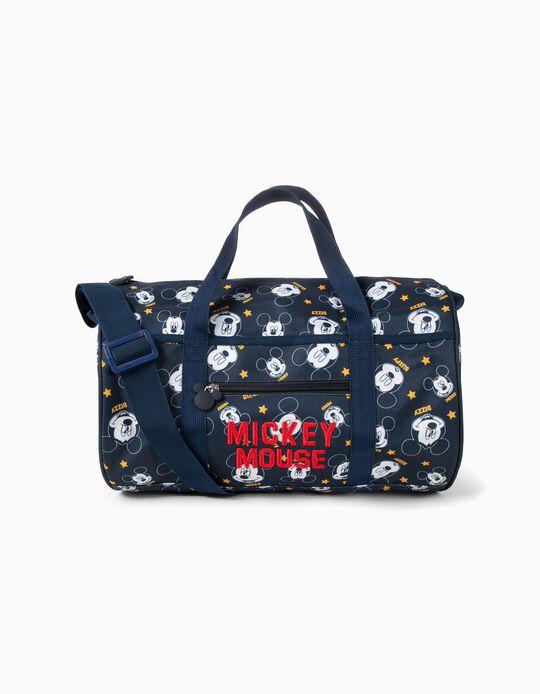 Bolso de Deporte para Niño 'Mickey', Azul Oscuro