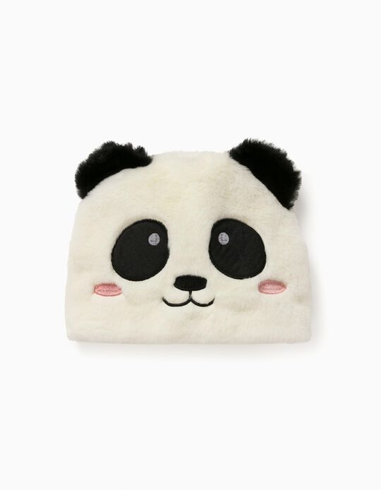 Gorro para Bebé 'Panda', Blanco