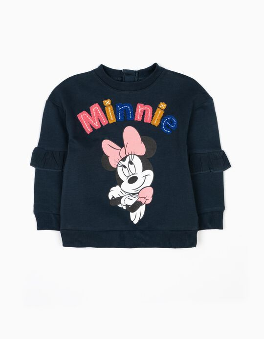 Sweatshirt Minnie Azul